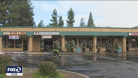 Businesses destroyed, damaged during fire at Fremont strip mall