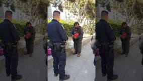 Surveillance video captures man attacking Asian San Francisco police officer
