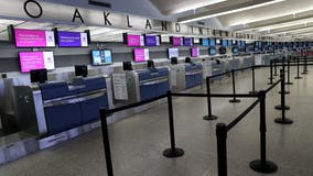 Projected passenger traffic over holiday weekend at Oakland International Airport indicates strong recovery