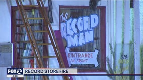 Fire at Redwood City record store considered suspicious, investigators say