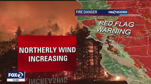 Red Flag Warning in parts of the Bay Area suggest early start to wildfire season