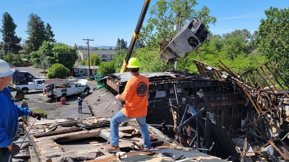 Investigators say fire at Concord church started from human activity in crawl space