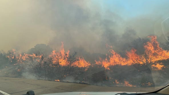 Crews battling Copper Canyon Fire in Gila County; US 60 reopens