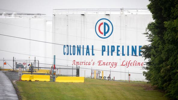Colonial Pipeline says it expects restored service to all markets by mid-day Thursday