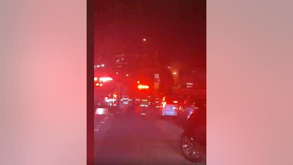 SF Fire Department responding to house fire in Portola Place neighborhood