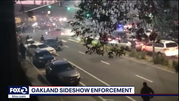 Amid surge in gun violence, Oakland police deploy Sideshow Enforcement unit