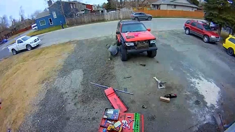 SUV escape