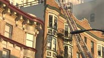 Raw video from scene of San Francisco apartment building fire that displaced 60 residents