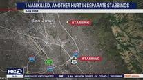 1 man killed, another hurt in two separate San Jose stabbings