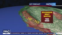 Extreme heat headed to much of California starting Wednesday