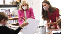 Jill Biden, Kate Middleton meet at UK preschool ahead of G-7 Summit