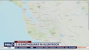 3.6-magnitude quake shakes San Jose