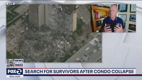 Disaster response expert explains what first responders are prioritizing at the scene of the Florida condo collapse