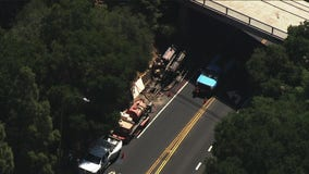 Portion of Highway 9 closed in Los Gatos after gas line ruptures
