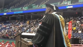 North Carolina principal surprises graduating seniors with moving version of 'I Will Always Love You'