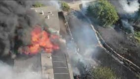 Suspect busted for allegedly starting Antioch apartment blaze with fireworks