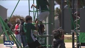 Upgraded Shoreline Park reopens in San Francisco