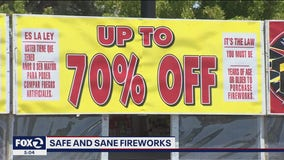 Proceeds from 'safe & sane' fireworks go to good causes