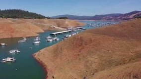 Drought shrinks California reservoirs as hot, dry spring season wraps up
