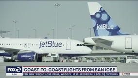 Coast-to-Coast flights from San Jose have resumed