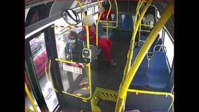 Video shows woman's hair being set ablaze on MUNI bus