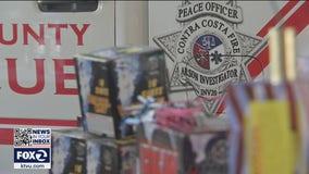 Illegal fireworks seizures underway in the Bay Area