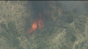 Southern California brush fire prompts evacuations