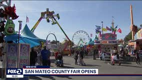 San Mateo County Fair kicks off with free admission for attendees who get the vaccine