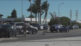 Freeway shooting leads to multi-car crash in Fremont