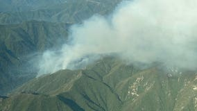 Willow Fire in Monterey County wilderness grows to 2,000 acres