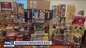 Task force seizes 1 ton of illegal fireworks in Menlo Park and East Palo Alto