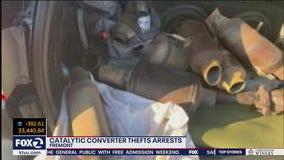 Fremont police make arrests, recover 22 catalytic converters