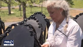 Bay Area sculptor marks Juneteenth with new work
