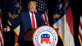 Trump pushes GOP to back candidates who 'stand for our values' at NC convention