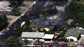 Fire in Pleasant Hill evacuates neighborhood residents, 2 homes significantly damaged