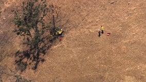 Vehicle goes 300 feet down Mount Hamilton hillside