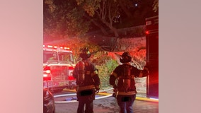 Fire guts Mill Valley home, two firefighters injured