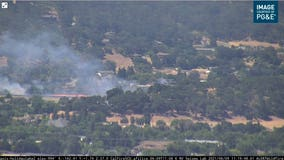 Crews contain 10-acre vegetation fire in Morgan Hill
