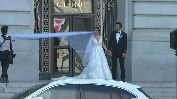 San Francisco City Hall reopens with in-person weddings and Pride celebrations