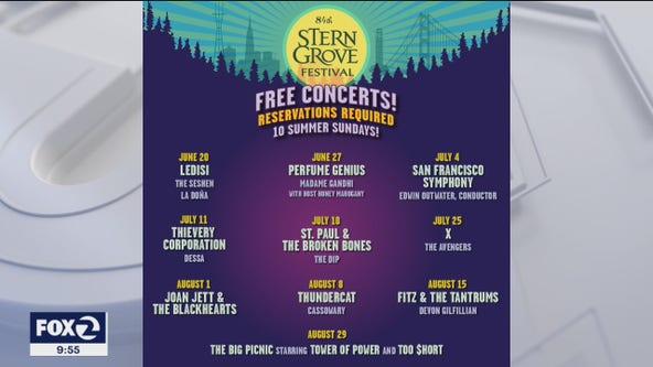 Stern Grove Festival announces 2021 music lineup