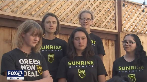 California activists walking hundreds of miles for climate change