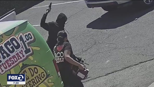 San Pablo police release security video of armed robbery to help find suspect