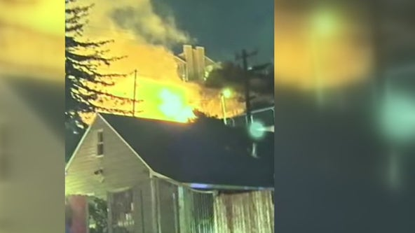 Fireworks blamed for 4-alarm brush fire that spread to south Vallejo neighborhood