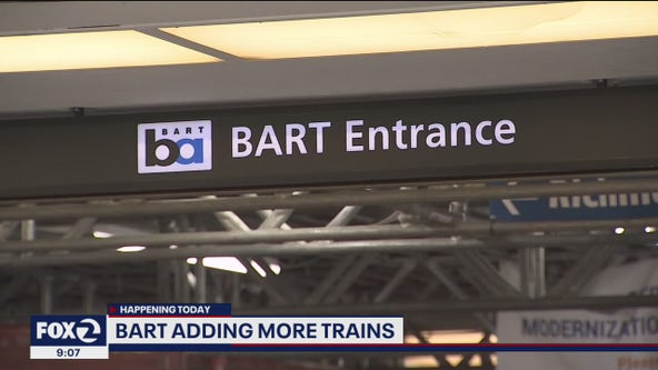 BART trains adding more services