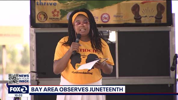 Thousands celebrate Juneteenth in the Bay Area
