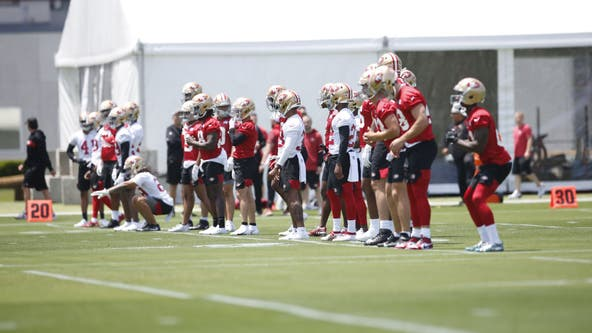 49ers end offseason program early after injuries