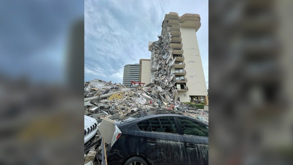 At least 1 dead after South Florida condo collapse; 99 unaccounted for as search continues