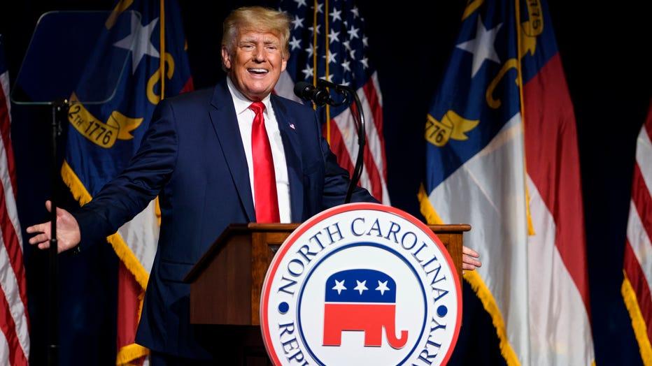 Former President Trump Addresses The North Carolina GOP Convention