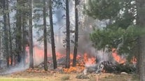 Video shows the aftermath of a plane crash in Truckee that killed six people