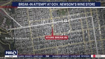 Thieves attempted to break into Gov. Newsom's wine store
